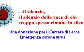 Richiesta donazione emergenza corona virus